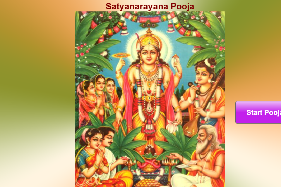 Sri Satyanarayana Swami Pooja Android Apps On Google Play