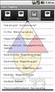 Learn Tagalog screenshot 0