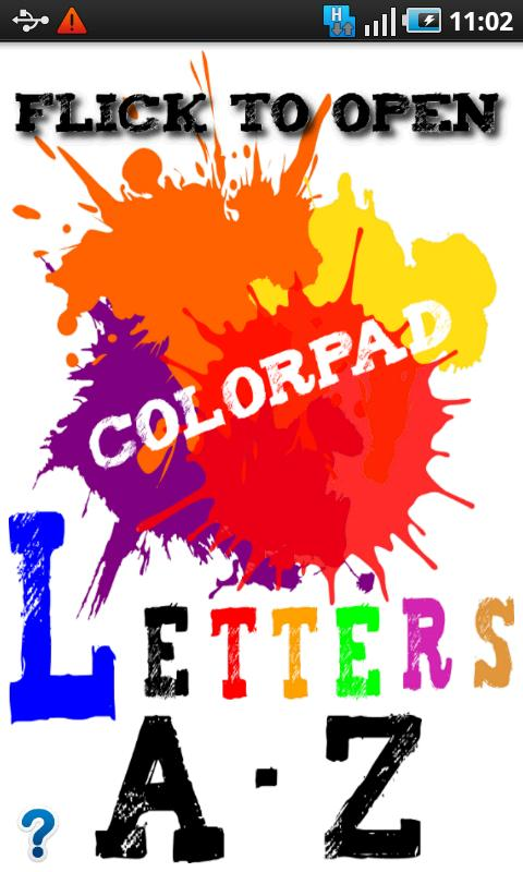 ColorPad Letters- screenshot