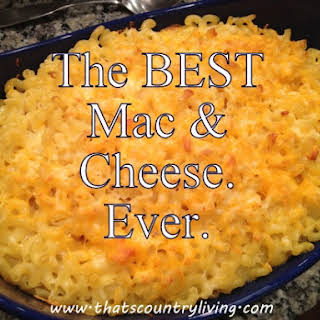 The Most Lip-Smackingly-Delicious Macaroni and Cheese. Ever..