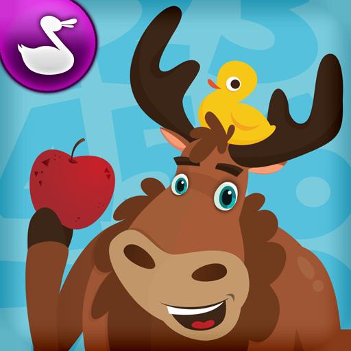 ムース マス - Duck Duck Moose 教育 App LOGO-硬是要APP