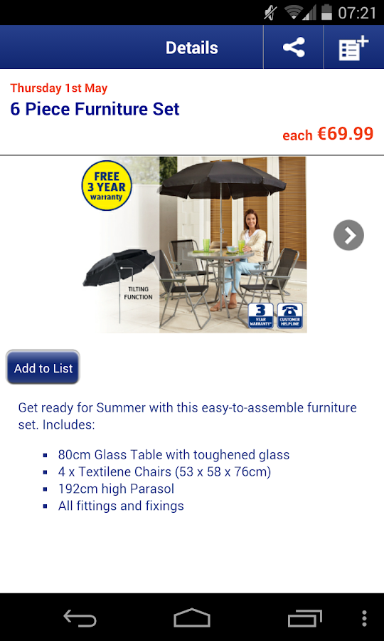 ALDI Ireland - screenshot