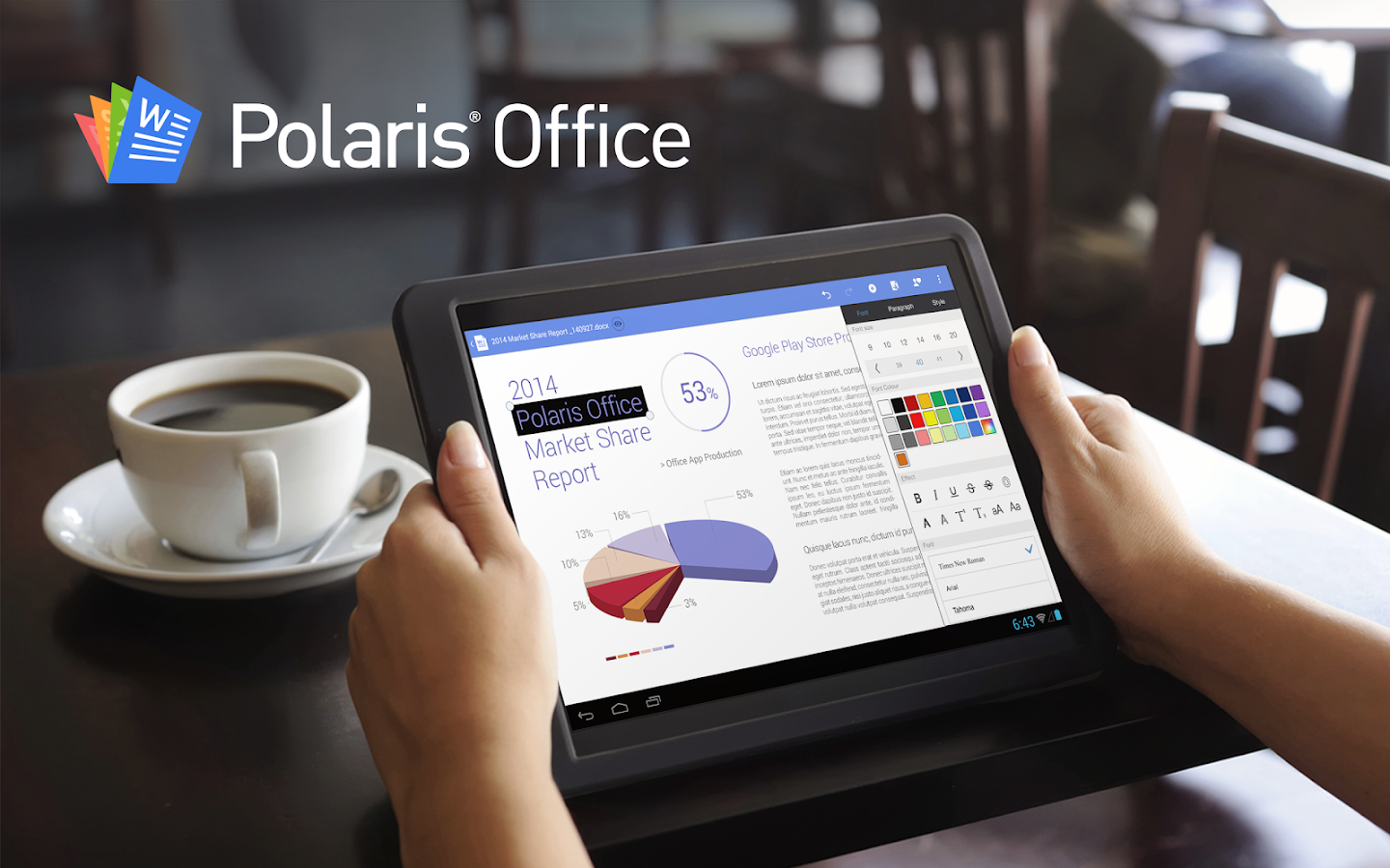 Polaris Office + PDF - screenshot