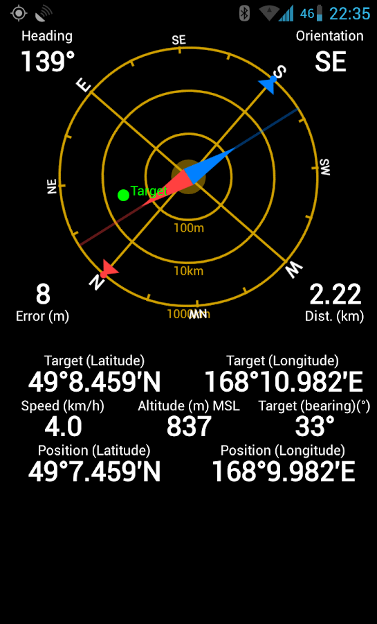 GPS Status & Toolbox - screenshot