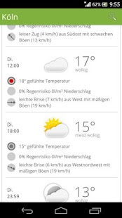 wetter.de - screenshot thumbnail
