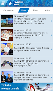 Sochi 2014 Results - screenshot thumbnail