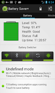 Battery Saver + - screenshot thumbnail