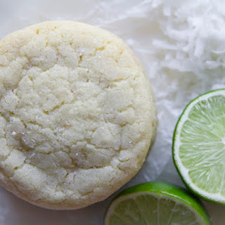 Toasted Coconut Lime Sugar Cookies.