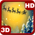 Christmas Santa Forest Night icon