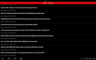 Screenshot of Balkan Novosti