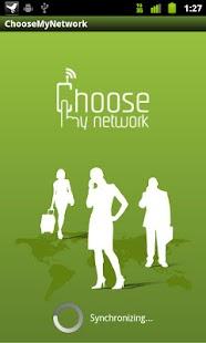 Choose My Network - screenshot thumbnail