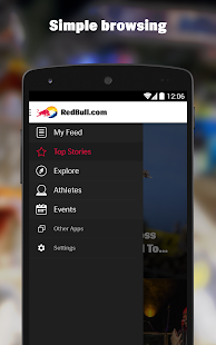 RedBull.com- screenshot thumbnail