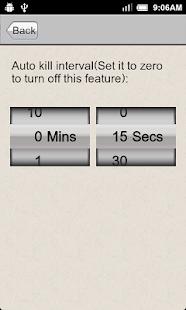 Task Killer - náhled