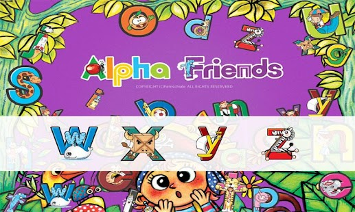 Alpha friends 1 W~Z - screenshot thumbnail