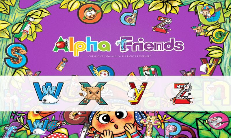 Alpha friends 1 W~Z - screenshot