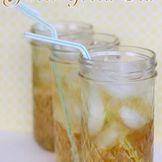 Sweet Green Tea Recipe