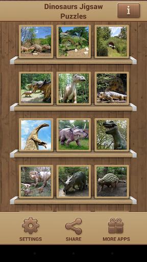 恐竜ジグソーパズル