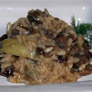 Portofino Lamb and Artichoke Risotto Recipe