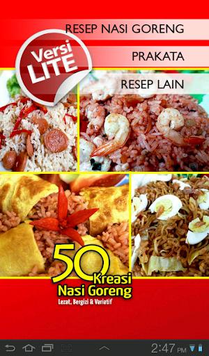 50 Resep Nasi Goreng Lite