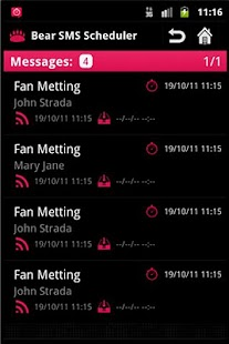 SMS Scheduler Pro- screenshot thumbnail