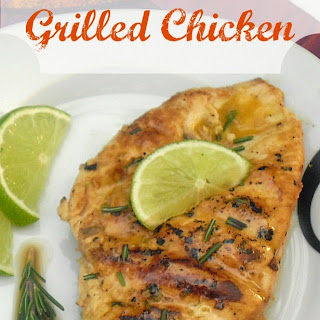 Rosemary Lime Grilled Chicken.