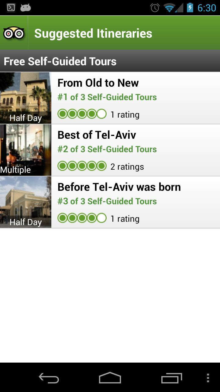 Tel Aviv City Guide screenshot #4
