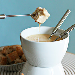 Cheese Fondue with Chipotle and Tequila.