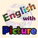 English with Picture icon