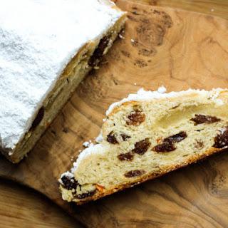Buttery Marzipan Stollen