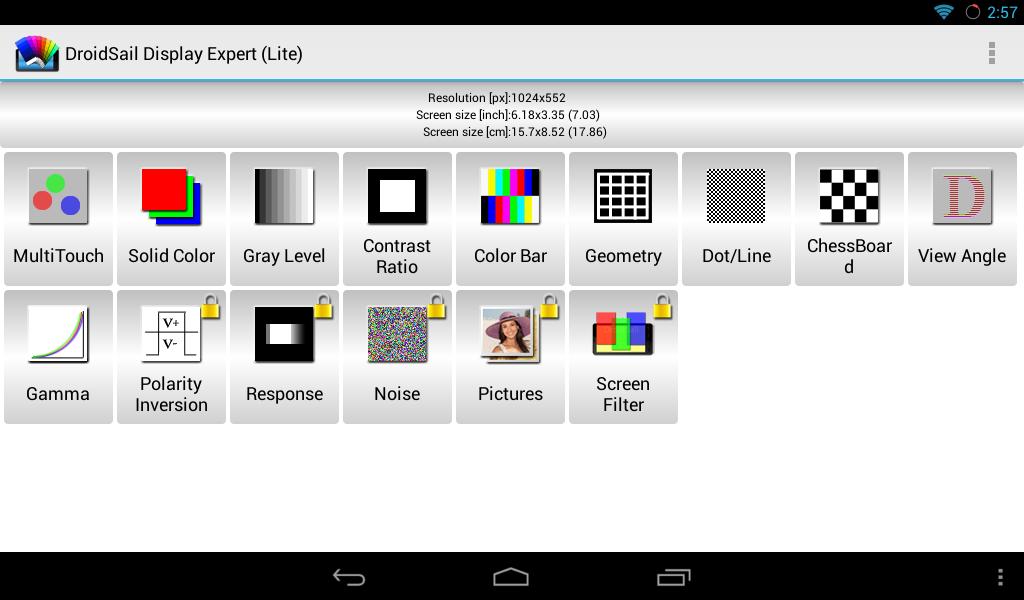 DS Display Expert(Lite) - screenshot