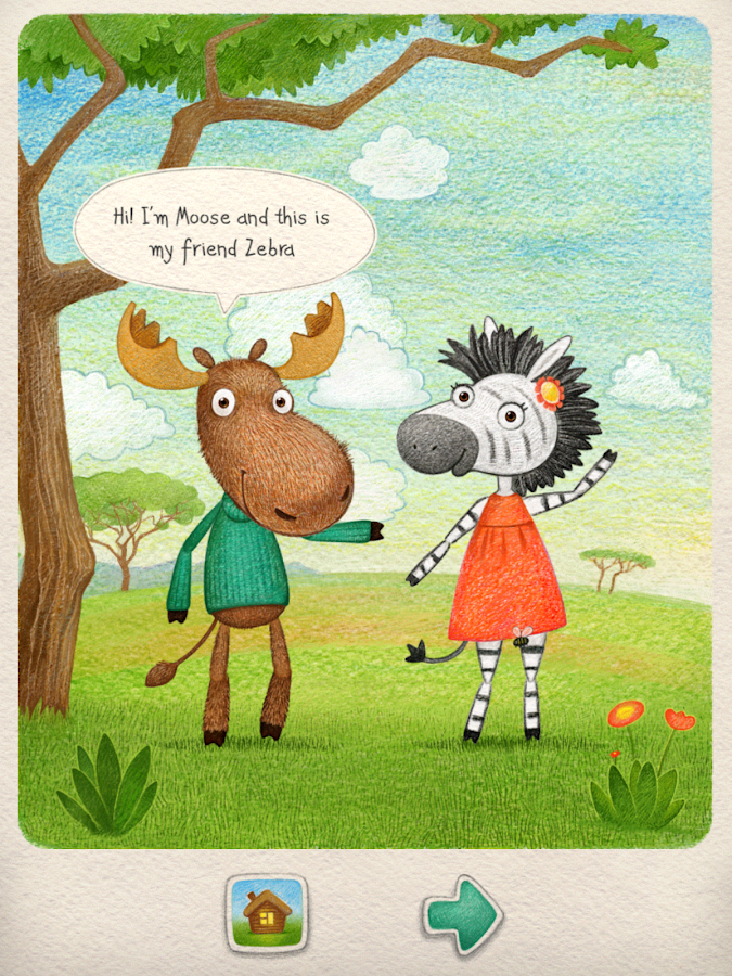 description moose zebra is a unique interactive magazine for kids a ...