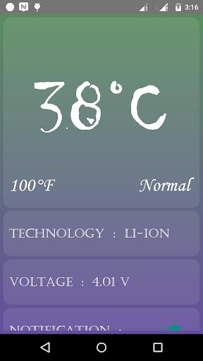Battery Temperature