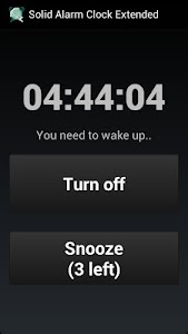 Solid Alarm Clock Extended screenshot 4