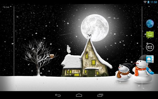Winter Night Pro для планшетов на Android