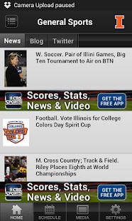 Illinois Illini Sports - screenshot thumbnail