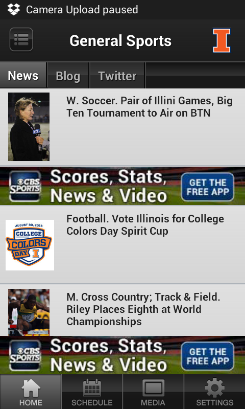 Illinois Illini Sports - screenshot