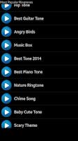 Screenshot of Most Popular Ringtones