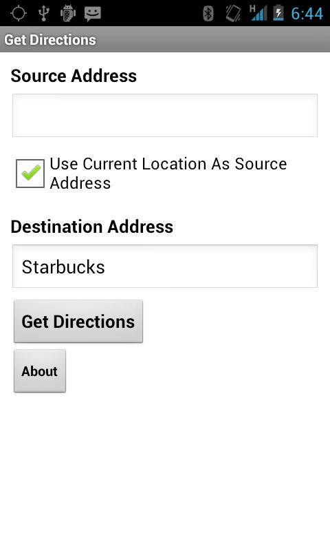 Destination Finder- screenshot