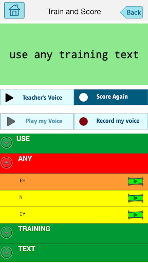 SpeechScore How to pronounce