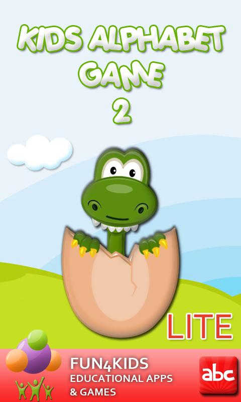 Kids Alphabet Game 2 Lite- screenshot