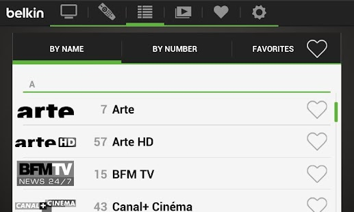 Belkin @TV for Android Phones - screenshot thumbnail