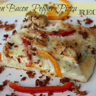 Chicken Bacon Pepper Pizza