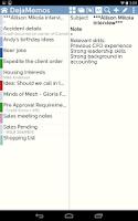 Screenshot of DejaOffice for Outlook Sync