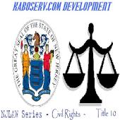 NJLaw - Civil Rights -Title 10