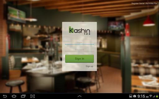Kashin cloud based tablet POS