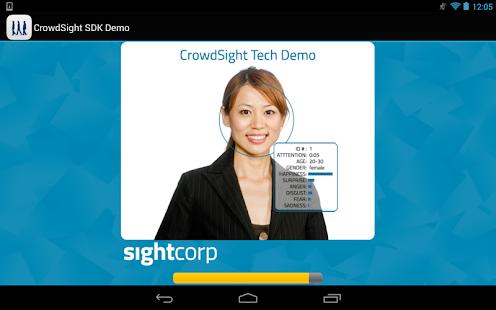 CrowdSight Face Analysis Demo