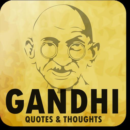 Gandhi - Peace quotes LOGO-APP點子