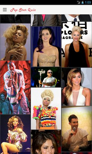 Pop Star Quiz