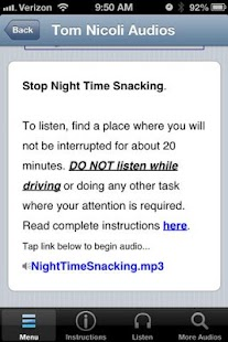 Stop Night Time Snacking- screenshot thumbnail