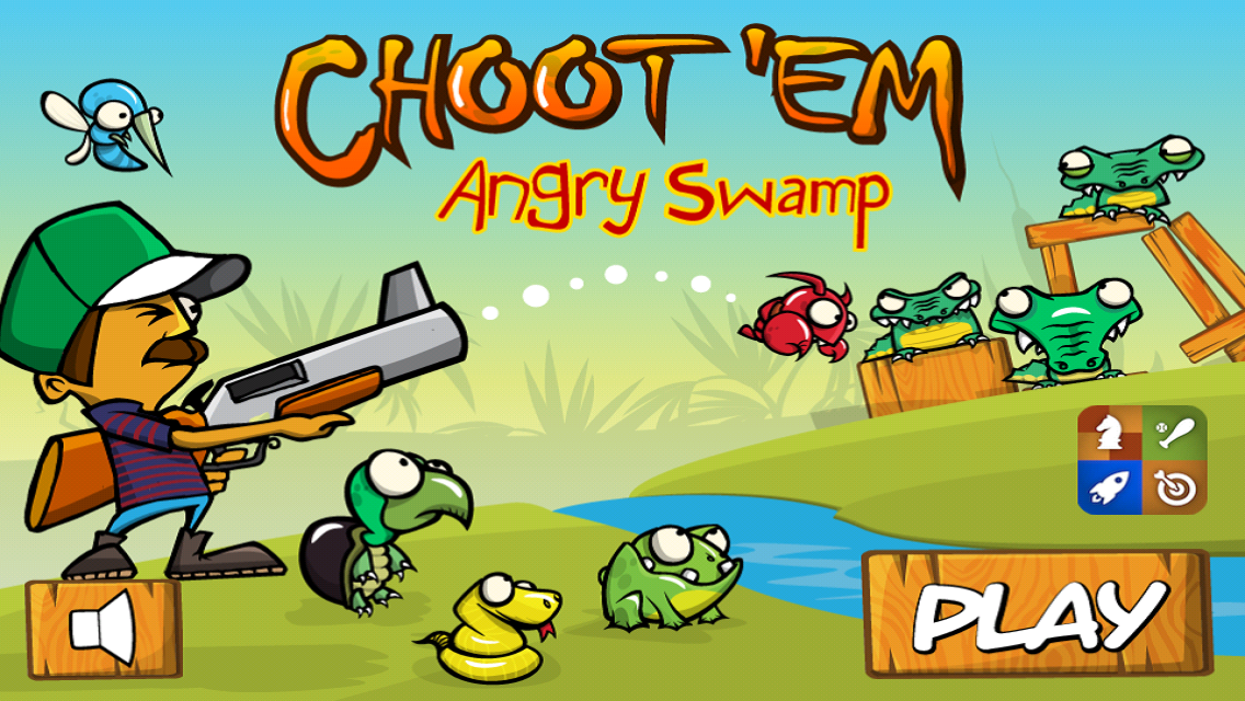 Angry Swamp ChootEm - screenshot